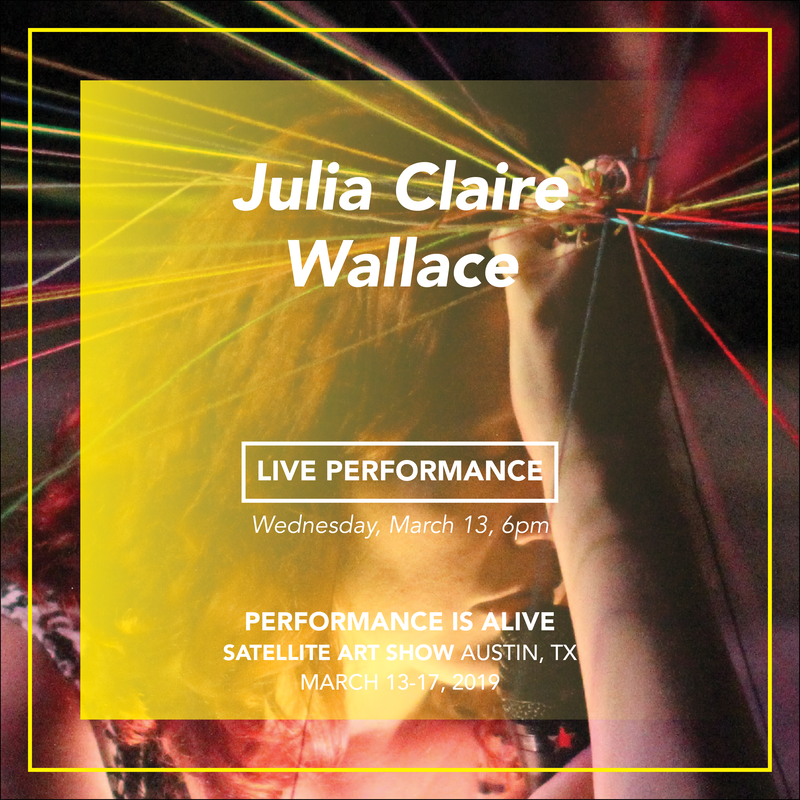 LIVE PERFORMANCE Julia Claire Wallace - WEDNESDAY, March 13th at 6pm