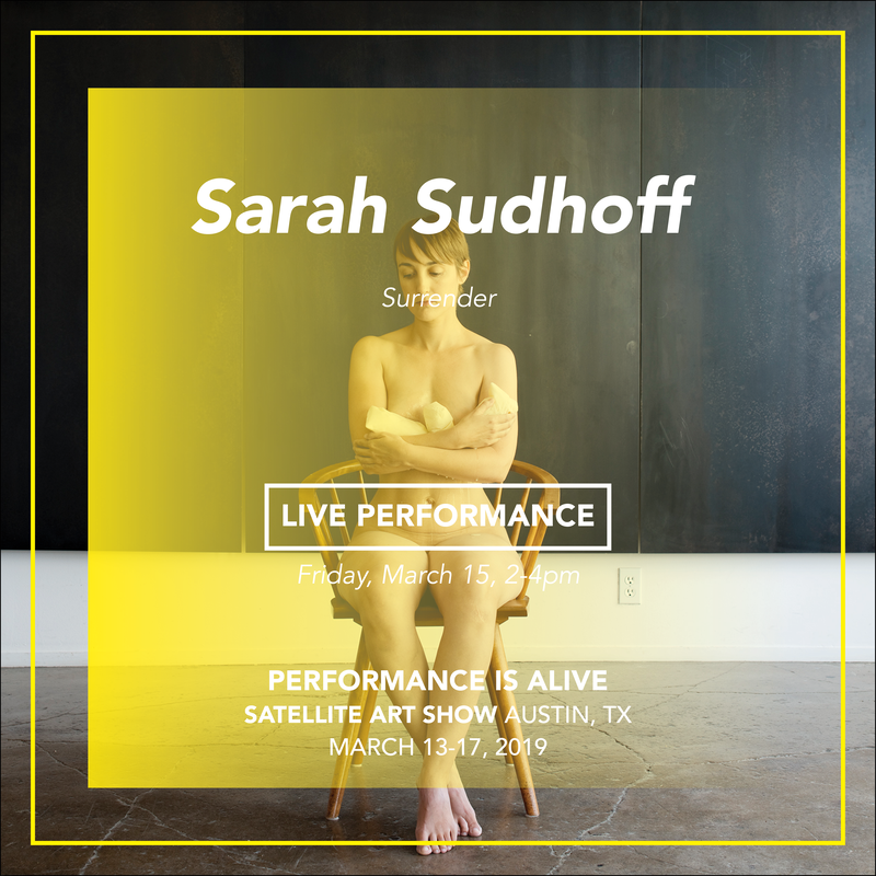 Sarah Sudhoff, LIVE PERFORMANCE Friday, March 15th at 2-4pm