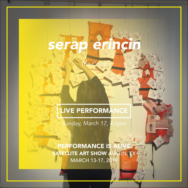 serap erincin, LIVE PERFORMANCE Sunday, March 17th at 4-6pm